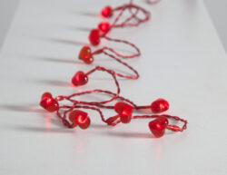 Světelný řetěz Corazon červený(ST726-11)