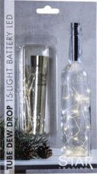 Světelná dekorace Dew Drop do láhve 15 LED(ST728-03)