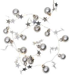 Světelný řetěz X-mas stříbrný(ST728-05)