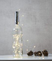 Světelná síť Dew Drop do láhve 40 LED