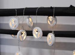 Světelný řetěz Woodworks Jelen(ST728-43)
