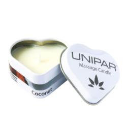 Masážní vonná svíčka Coconut Tin Unipar