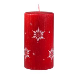 Svíčka Ice Nature Red Vánoční 80x150 Unipar