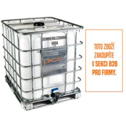 Demineralizovaná voda, deionizovaná, IBC 1000 l